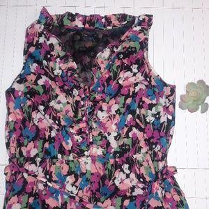 GAP Floral Shirt Dress Size 18